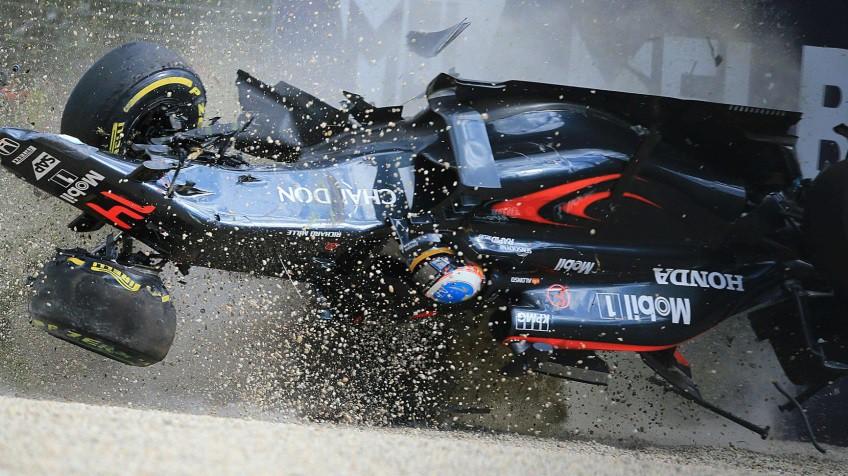 Resultado de imagen de Accidente Fernando Alonso Australia