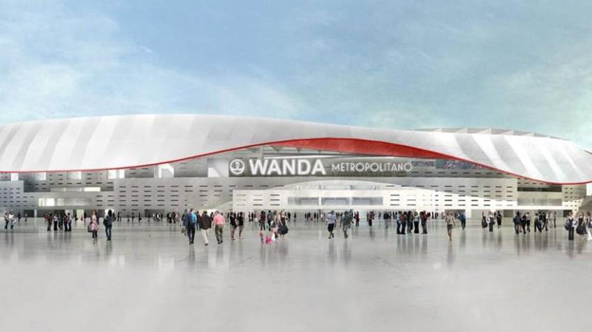 Resultado de imagen de estadio wanda metropolitano