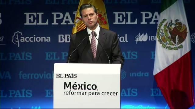 """""""O México decidiu mudar tudo aquilo que não permitia o país crescer"""" – Enrique Peña Nieto"""