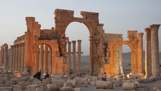El Ejército sirio hace retroceder al Estado Islámico en Palmira 1431891925_106645_1431934845_noticia_fotograma