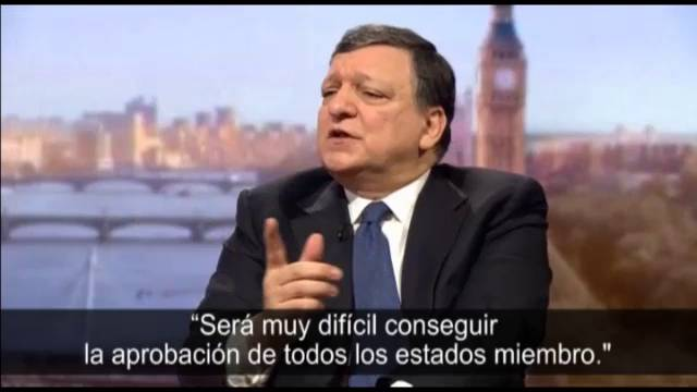 "Barroso ve ""casi imposible"" a una Escocia independiente en la UE"