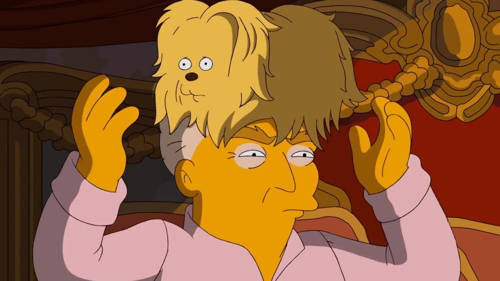 """Los Simpson """"votarán"""" por Clinton"""