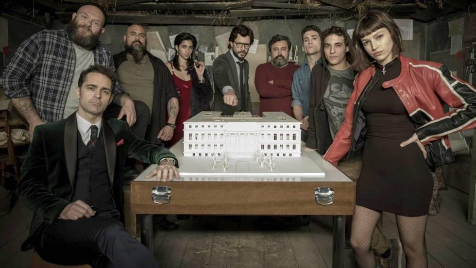 La nueva temporada de 'La casa de papel' jugará con la fragmentación temporal