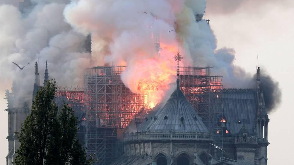 Incendio de Notre Dame (Fuente: El País)