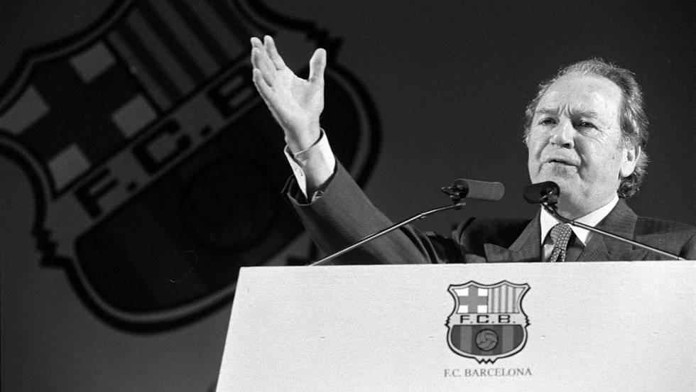 Muere Josep Lluís Núñez, expresidente del Barça