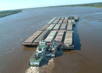 Resultado de imagen para rio rin alemania empieza a secarse y amenaza transportes estratégicos