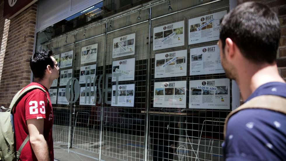 Fomento saca a la luz el precio real del alquiler: 819 euros de media en Madrid y 769 en Barcelona
