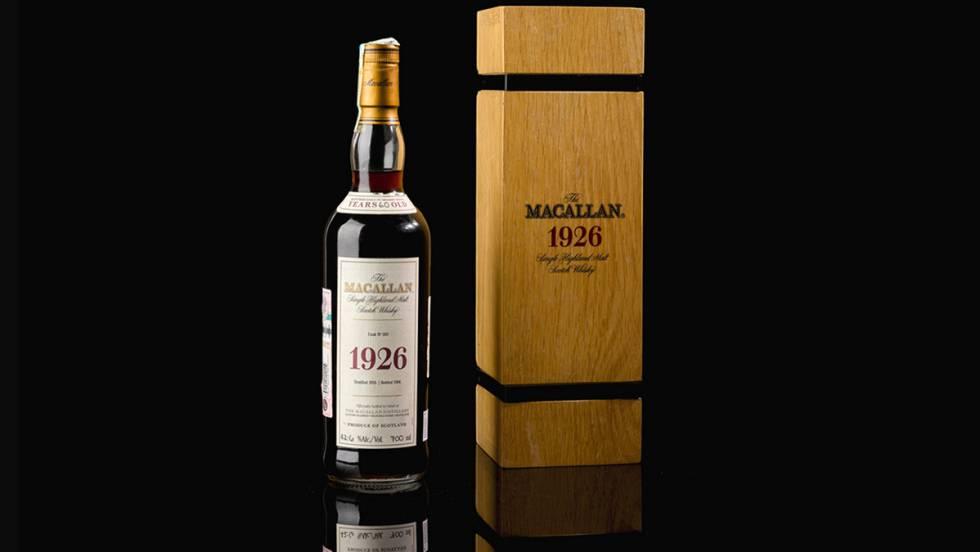 1,7 millones de euros por una botella de whisky