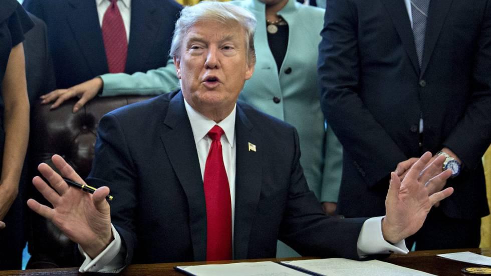 d05bb7967bdff Primeros 100 días del mandato de Donald Trump en EL PAÍS