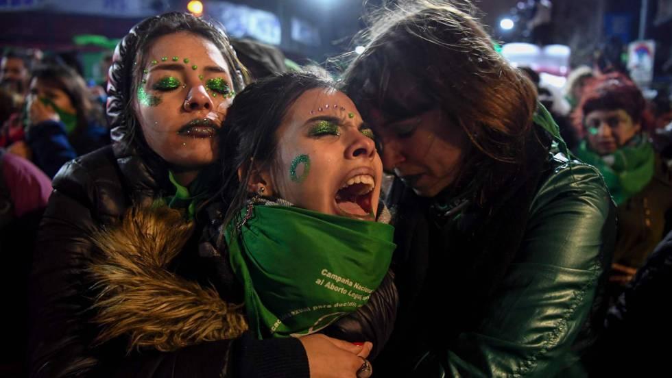 Argentina se queda en 1921 por rechazo de aborto (elpais.com)