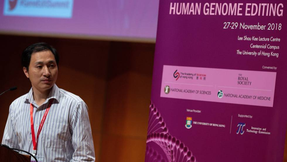 El científico chino que modificó los genes de dos bebés admite otra fecundación con embriones alterados