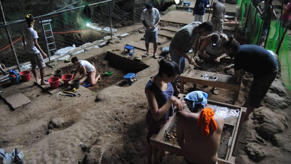 Hallados restos de una nueva especie humana en Filipinas 1554913422_860525_1554922641_noticia_fotograma