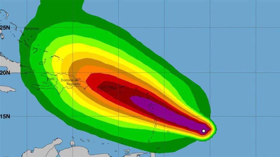 María devasta Dominica y llega a Puerto Rico