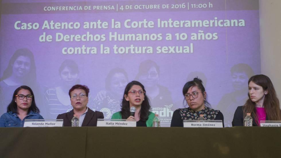 """Las mujeres de Atenco, ante la CIDH: """"Nos han hecho sentir, repetidamente, pequeñas"""""""