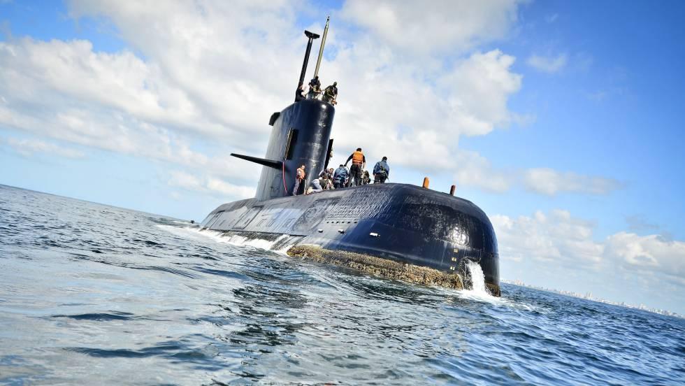 Ara San Juan, el ahora olvidado submarino Argentino desaparecido con 44 tripulantes a bordo - Página 3 1510924798_730313_1510953426_noticia_fotograma