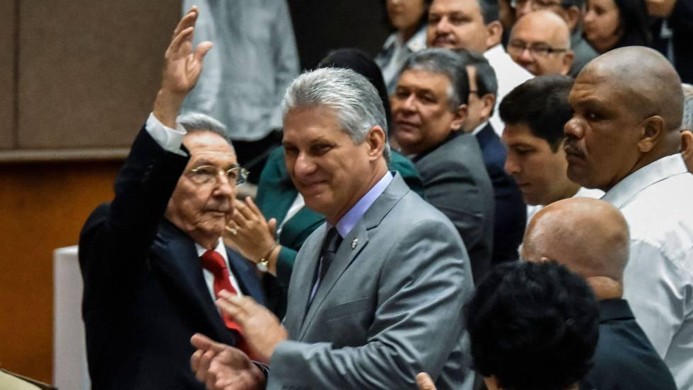 Cuba: el futuro sin los Castro pasa por las Fuerzas Armadas 1524069138_691013_1524072576_noticia_fotograma