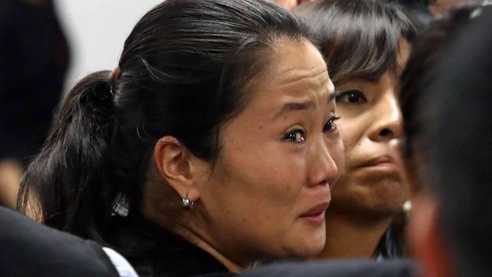 Un juez peruano impone 36 meses de prisión preventiva a Keiko Fujimori