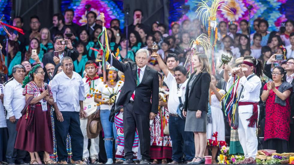 López Obrador propone un punto y aparte en la historia de México