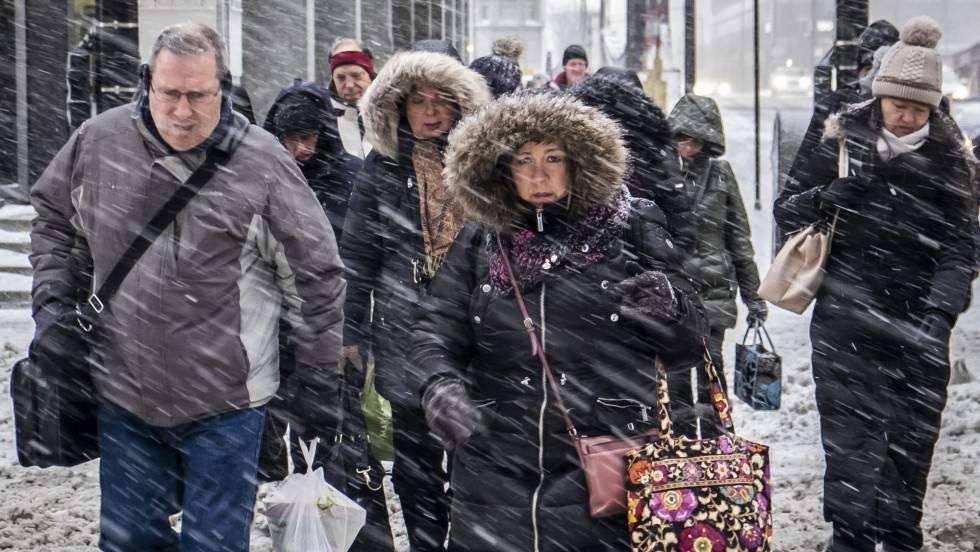 Una ola de frío extremo congela el medio oeste de EE UU y desploma las temperaturas a niveles récord
