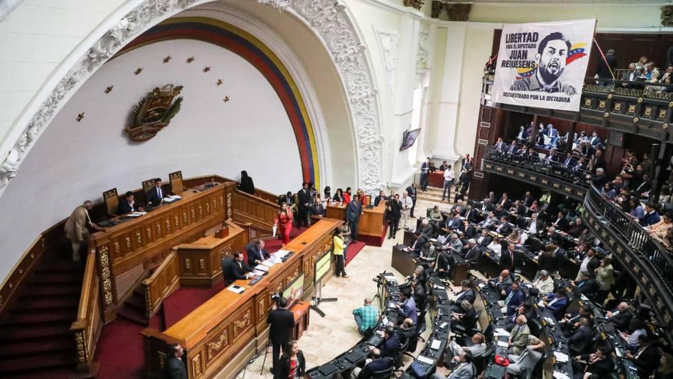 """La Asamblea venezolana rechaza todo diálogo que """"alargue el sufrimiento"""""""