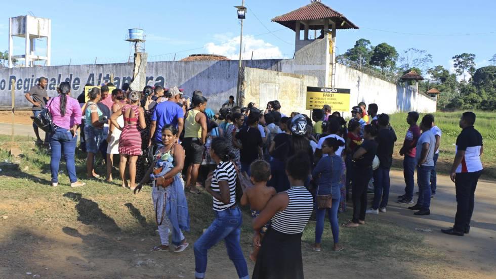 Horror en Brasil: 57 muertos por enfrentamiento en una cárcel