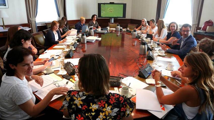 La reunión para el Pacto de Estado sobre Violencia de Genero. FOTO: JAIME VILLANUEVA