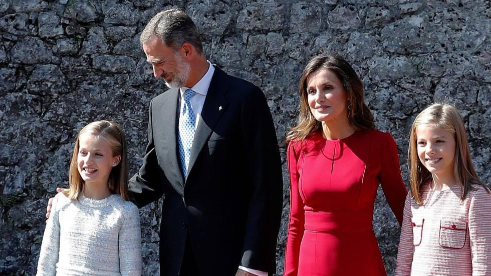 La princesa Leonor estrena su agenda oficial de viajes en Asturias 1536398715_714338_1536410238_noticia_fotograma