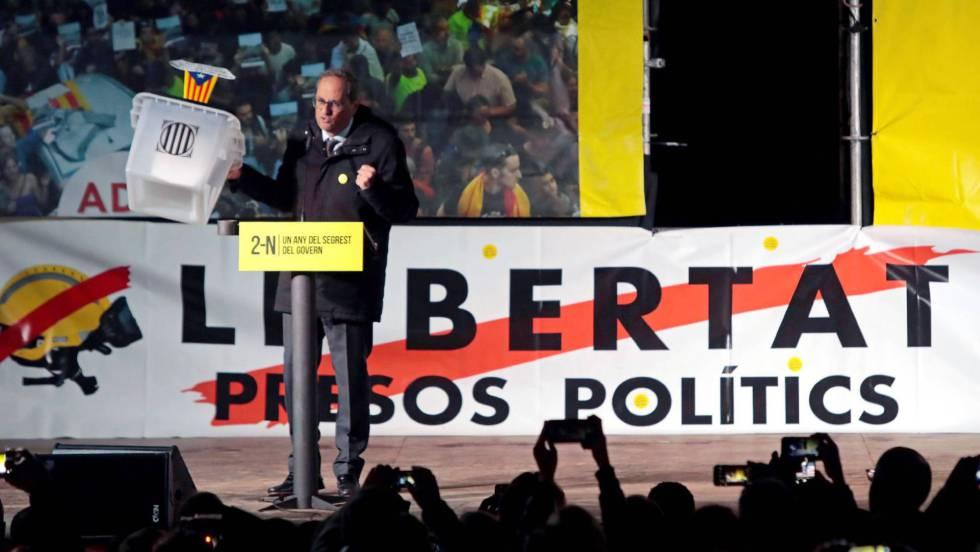 La petición de 25 años para Oriol Junqueras amenaza los Presupuestos
