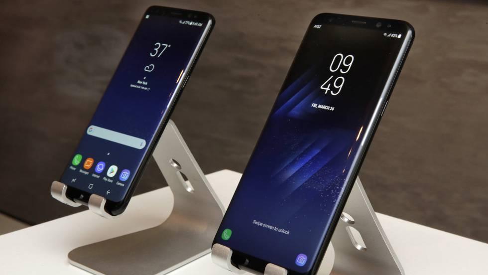 Samsung Galaxy S8: una enorme pantalla curva con batería a prueba de ...