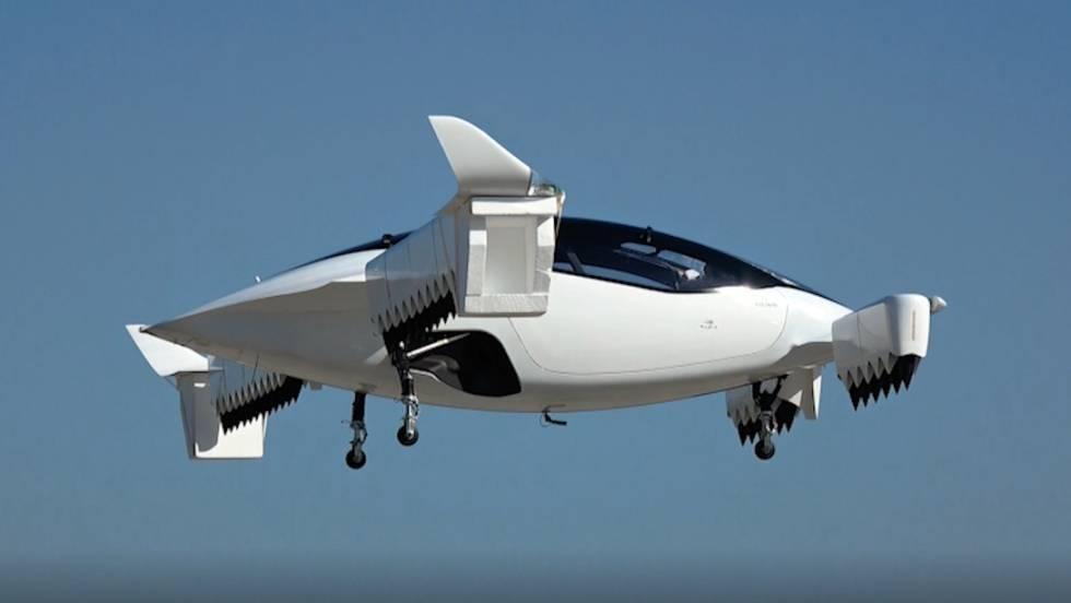Una compañía europea supera la primera prueba de su taxi volador urbano 1558632570_193057_1558713963_noticia_fotograma